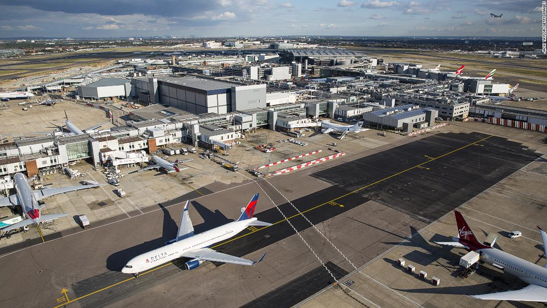 Destinations Among Travellers Around the Heathrow Airport