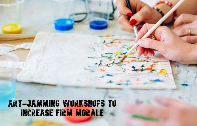 Art-Jamming Workshops to Increase Firm Morale