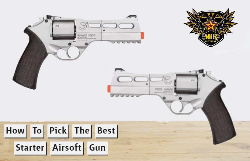 How to Pick the Best Starter Airsoft Gun