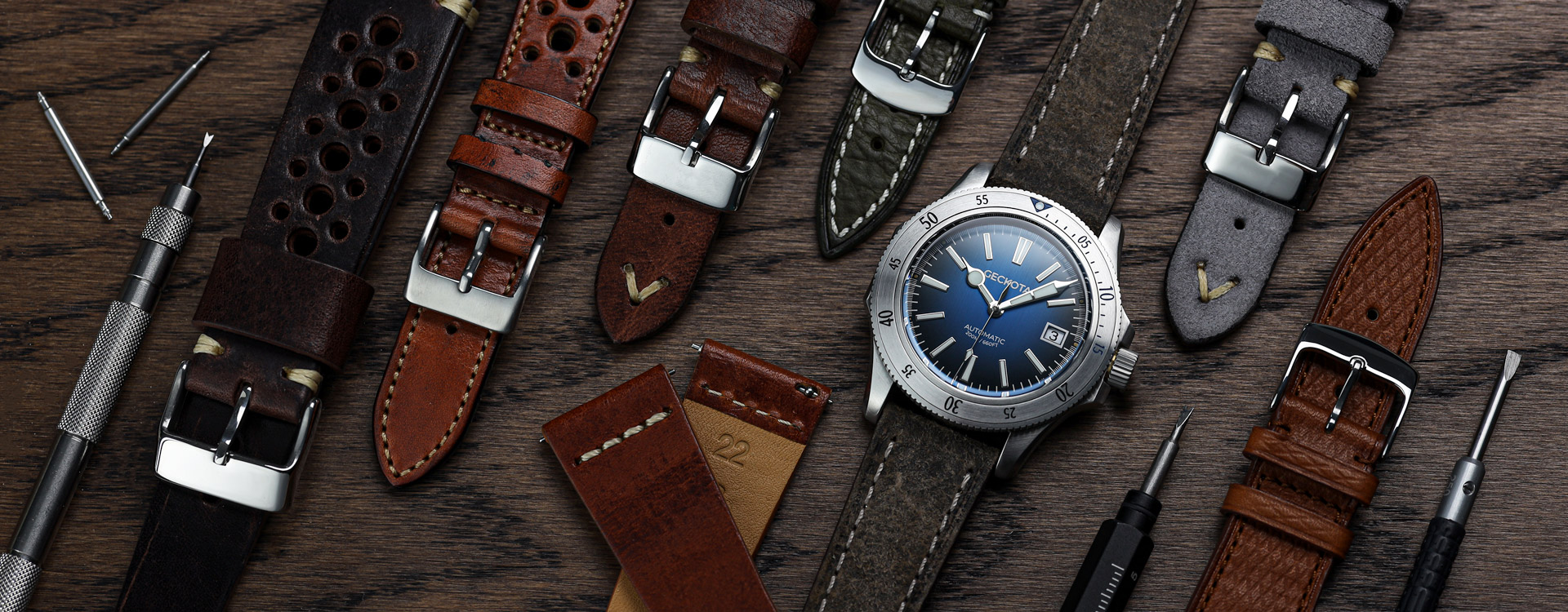 Watch and Strap for Man