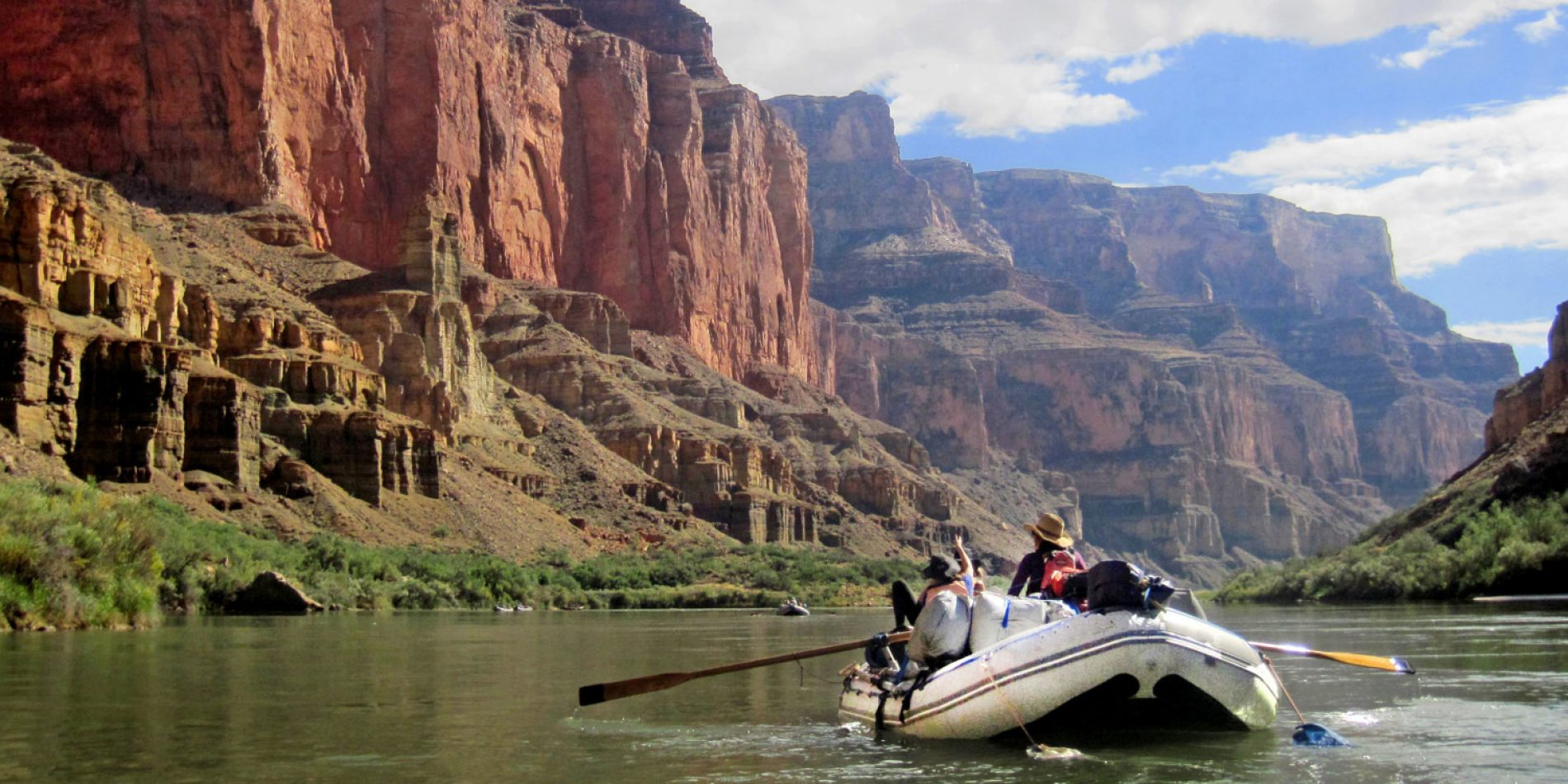 Smooth Water Grand Canyon Rafting Tours