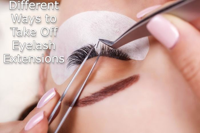 Different Ways to Take Off Eyelash Extensions