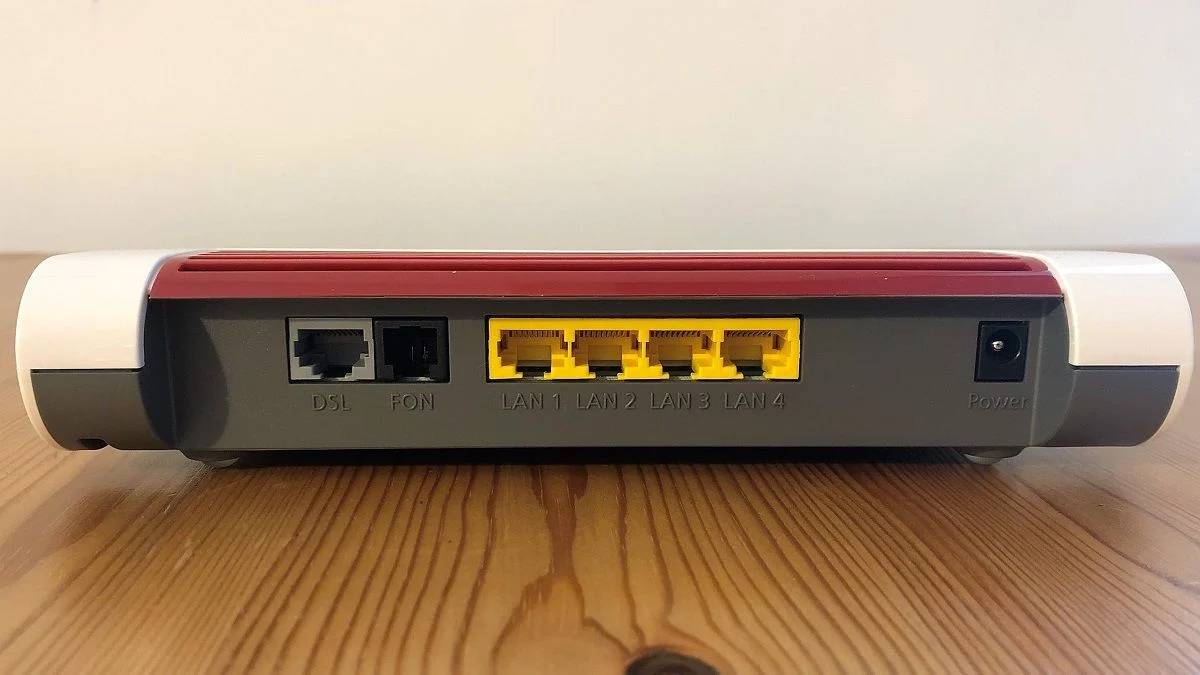 Fritzbox Router device